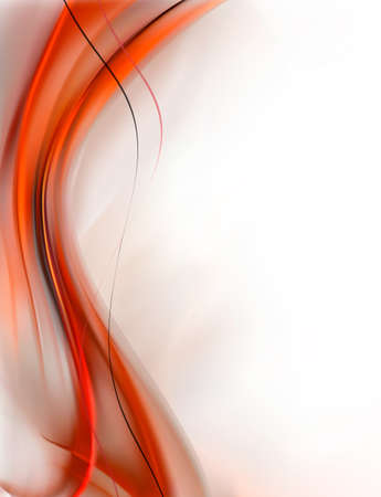 abstract paintings: Elegant Abstract Red background. Vector
