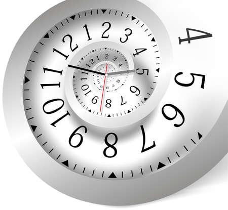 signo infinito: Infinity de fondo el tiempo Vectores
