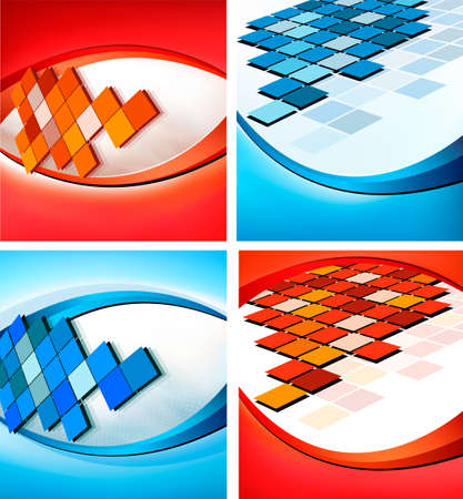 mosaic backgrounds Stock Vector - 13966783