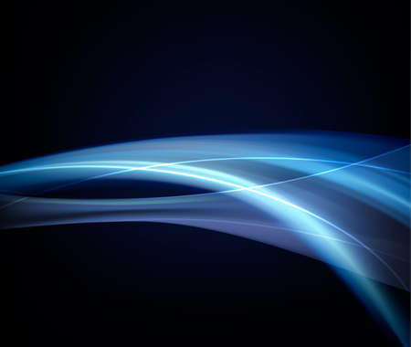 hi tech background: Abstract Blue Elegant Background