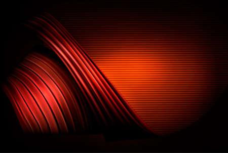 fantasy world: Red business elegant abstract background  Vector illustration  Illustration