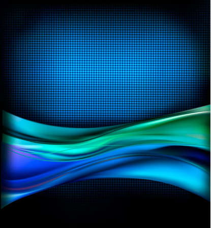 blue flame: Business elegant blue abstract background.