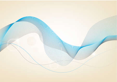 Business elegant blue abstract background  illustration Vector