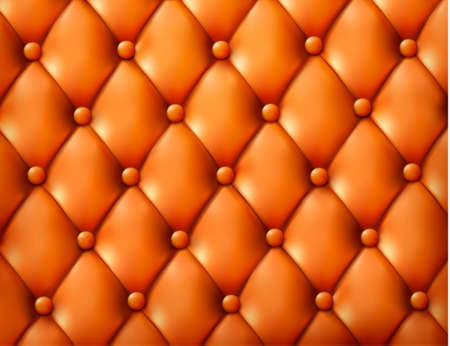 chester: Brown button-tufted leather background