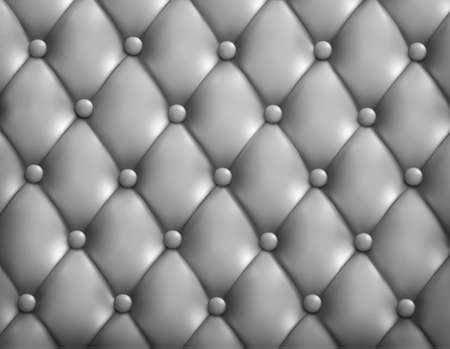 chester: Grey button-tufted leather background