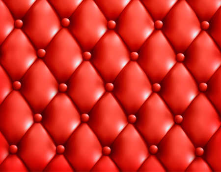 chester: Red button-tufted leather background