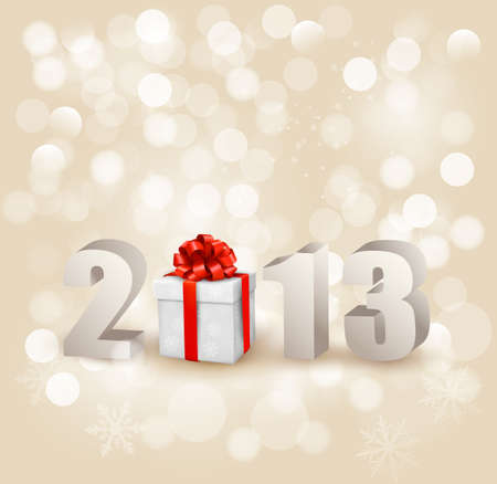 Happy new year 2013! New year design template Stock Vector - 15805690