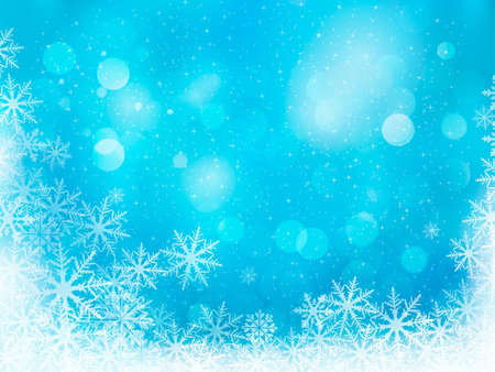 christmas star background: Winter christmas background  illustration
