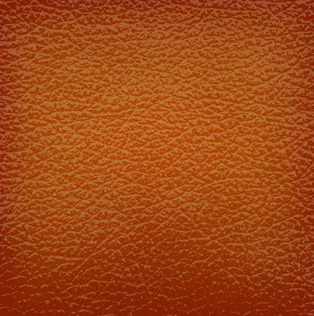 raw material: brown leather background. Vector illustration.
