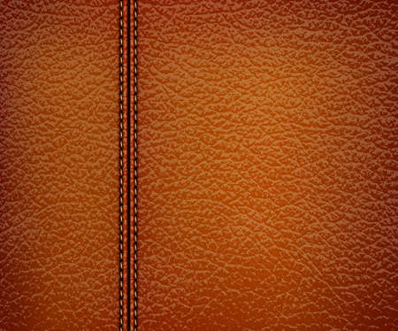 brown leather background. Vector illustration. Stock Vector - 18960026