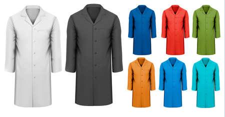jacket: Set of Info graphics elements. Vector illustration Illustration