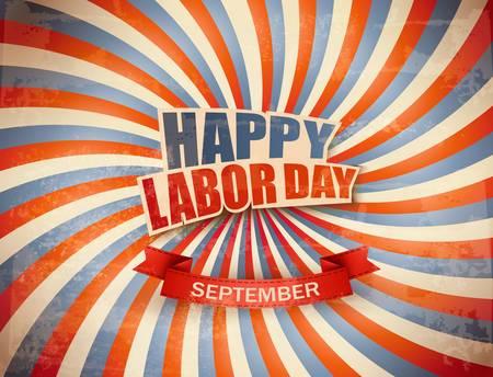 労働者の日の祭典の背景。ベクトル