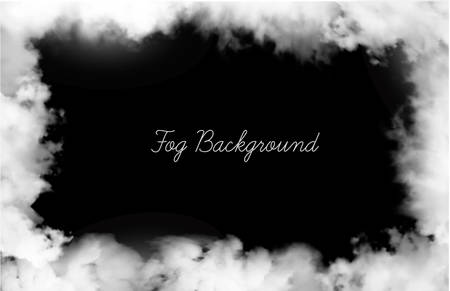 Abstract fog background with copy space. Vector illustration.