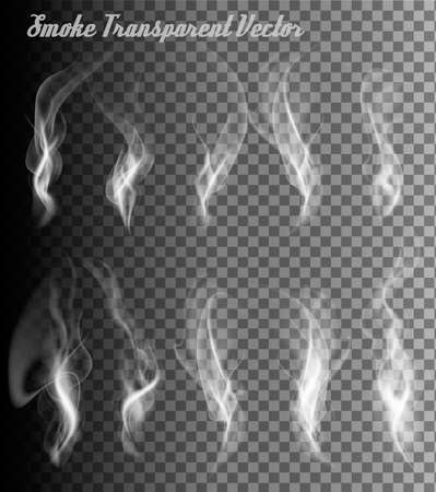 smoke: Completely transparent set of smoke vectors.