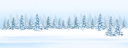 Christmas greeting card concept design.