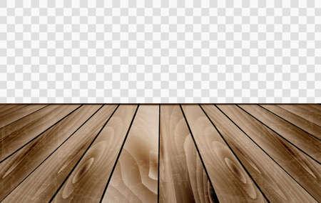 Wooden floor texture. Vector illustration