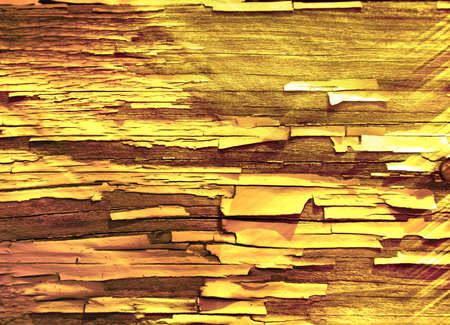 Old grunge scratched texture, light gold background.