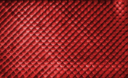 Red luxury leather buttoned background photo