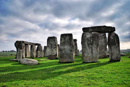 stonehenge: Stonehenge in UK Stock Photo