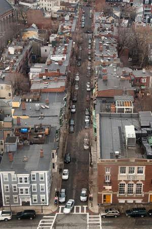 A street in the Charlestown neighborhood of Boston.