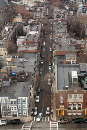 A street in the Charlestown neighborhood of Boston.