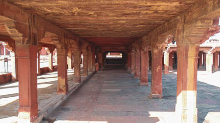 Abandoned ghost city of Fatehpur Sikri, Agra, India