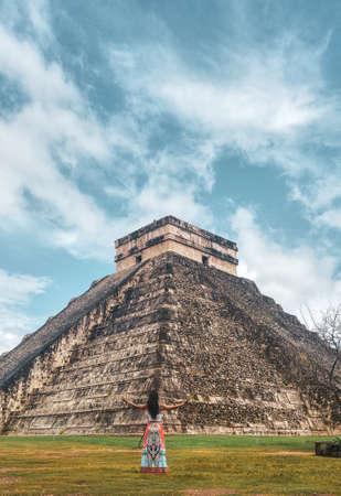 Ancient city of Chichen Itza, Yucatan, Mexico