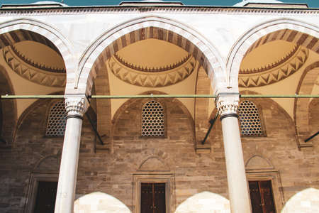 Suleymaniye Mosque, the mosque of Suleyman the Magnificent in Istanbul