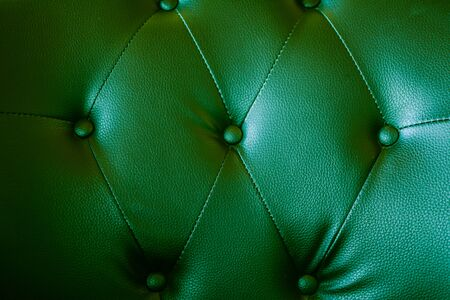 upholstered: Close up leather sofa background for texture