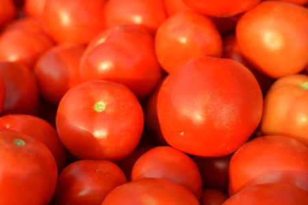 Close up of a tomato as a background
