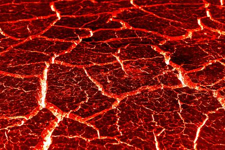 熔岩紋理的裂紋背景