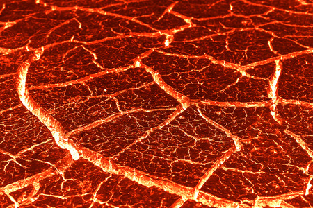Lava crack background for texture