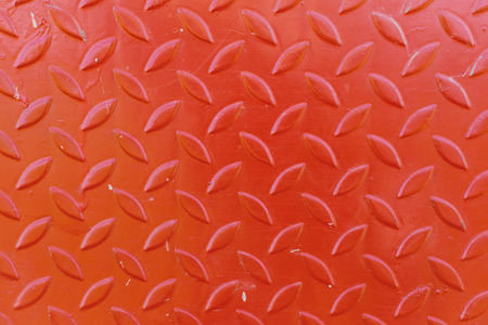 Close up orange steel background for texture