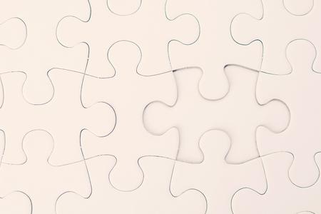 Close up white jigsaw background 版權商用圖片
