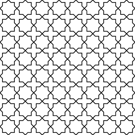 middle eastern: Arabic seamless pattern. Traditional Middle Eastern design. Persian ornament. Abstract in islamic style. Texture for wallpaper, wrapping, fabric, background, apparel, other print production. Vector
