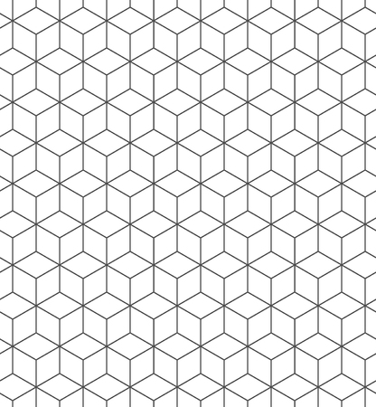 Seamless geometric pattern. Fashion graphics background design. Modern stylish texture. Repeating tile with rhombuses. Can be used for prints, textiles, wrapping, wallpaper, website, blogs etc. VECTOR