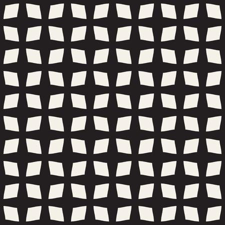 deform: Quadrangle abstract seamless pattern.