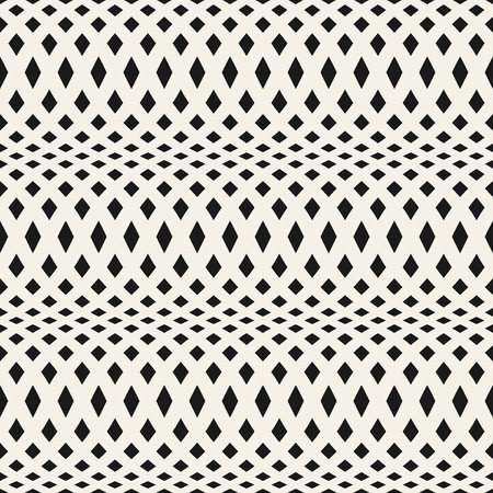 abstract wallpaper: Wavy crossed stripes seamless pattern 3D. Abstract fashion texture. Geometric monochrome template. Graphic style for wallpaper, wrapping, fabric, background, apparel, prints, website etc. Vector