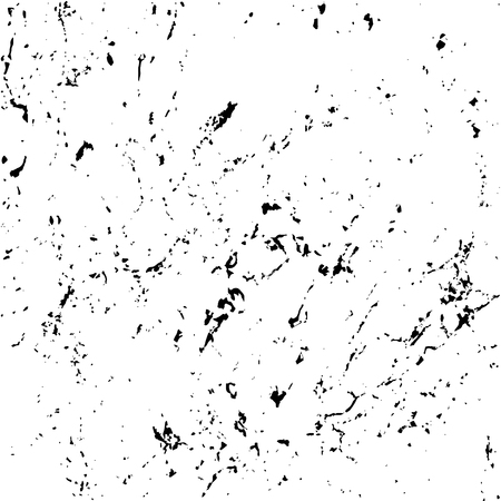 distress: Grunge marble texture white and black. Sketch pattern to Create Distressed Effect. Overlay Distress grain monochrome design. Stylish modern background for different print products. Vector illustration