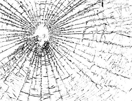 produits céréaliers: Brisé verre grunge texture blanc et noir. Dessinez abstraite pour créer un effet affligé. Overlay conception Distress grain monochrome. fond moderne élégant pour les produits d'impression. Vector illustration. Illustration