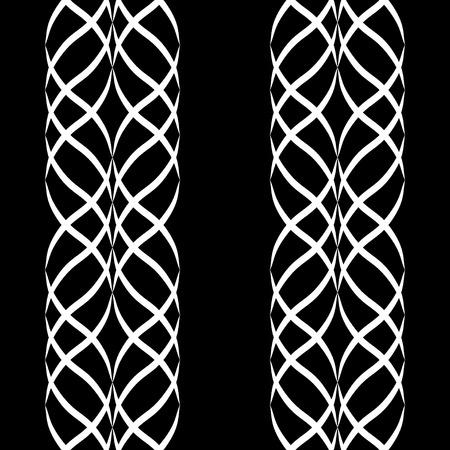 Arabische naadloze patroon met golf. Traditionele Midden-Oosten design. Perzische ornament. Samenvatting in islamitische stijl. Textuur voor behang, het verpakken, stof, achtergrond, kleding enz. Vector illustratie Vector Illustratie