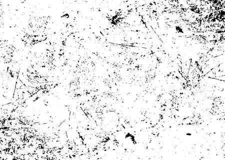 Grunge texture blanche et noire. Dessinez abstraite pour créer un effet affligé. Overlay conception Distress grain monochrome. fond moderne élégant pour différents produits d'impression. Vector illustration Vecteurs