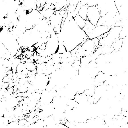 Grunge Marmor Textur weiß und schwarz. Skizzieranordnung Distressed-Effekt zu erzeugen. Overlay Distress Korn monochrome Design. Stilvolle moderne Hintergrund für verschiedene Druckprodukte. Vektor-Illustration