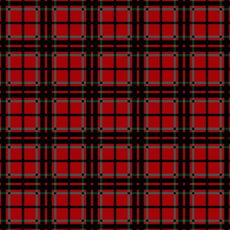 chequered ribbon: Tartan seamless pattern. Abstract fashion texture. Geometric classic scottish template plaid, wallpaper, wrapping, fabric, blanket. Checkered graphic style for background, prints, website etc. Vector