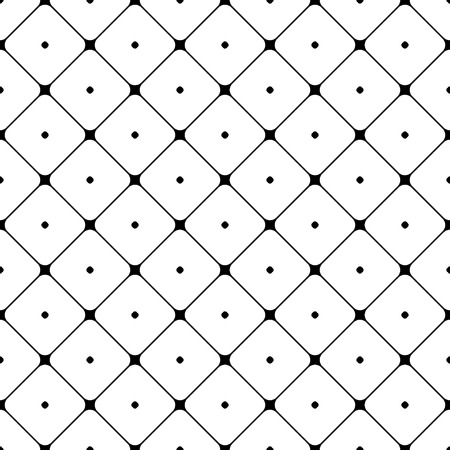 diamonds on black: Polka dot seamless pattern. Rhombus ornament. Abstract fashion design. Geometric texture for background, wallpaper, wrapping and fabric, textile. Template print, website etc. Stock Vector illustration
