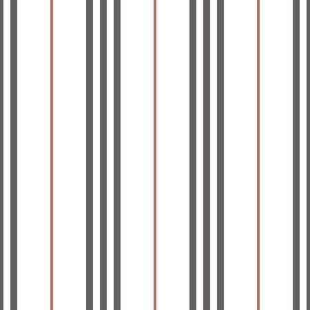 gray strip backdrop: Vertical thin straight lines seamless pattern. Geometric modern color texture. Fashion traditional abstract design. Classic simple template wallpaper, wrapping, fabric and textile. Vector Illustration Illustration