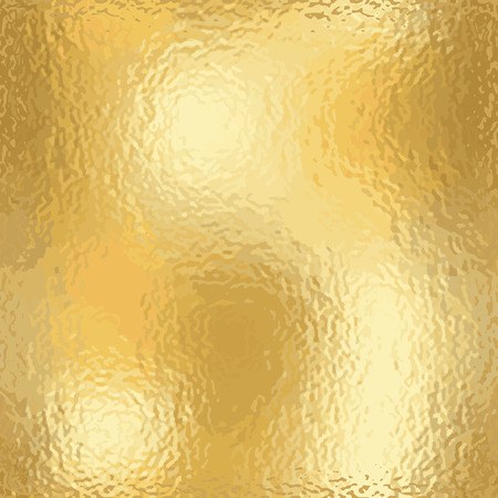 scabrous: Gold texture blank pattern. Light realistic, shiny, metallic empty golden gradient template. Abstract scabrous metal decoration. Foil design for wallpaper, background, fabric etc. Vector Illustration.