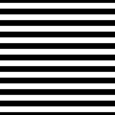 horizontal line: Striped seamless pattern with horizontal line. Black and white fashion graphics design. Strict graphic background. Retro style. Template for wallpaper, wrapping, textile, fabric. Vector Illustration.