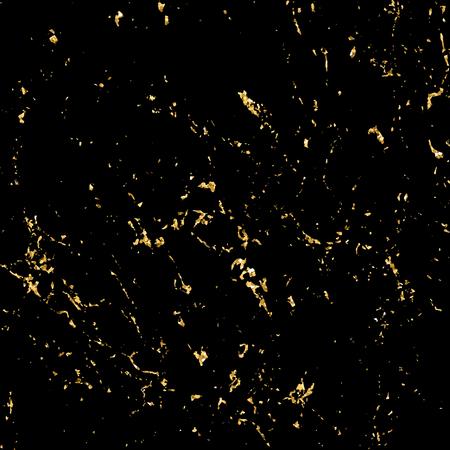 Marmer goud grunge textuur. Patina kras gouden elementen. Sketch oppervlak verontrust effect te creëren. Overlay nood graan grafisch ontwerp. Modieuze moderne achtergrond decoratie. vector illustratie Vector Illustratie