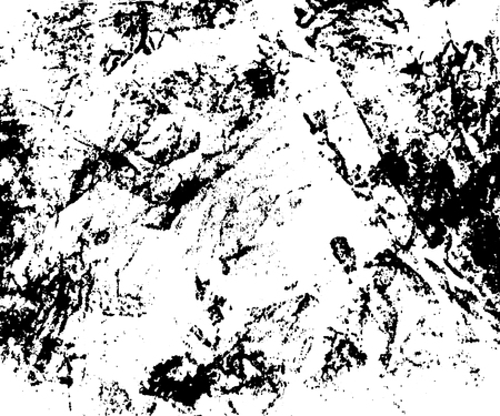 creased: Grunge texture white and black. Sketch crumpled abstract to Create Distressed Effect. Overlay Distress creased monochrome design. Stylish modern background for print art products. Vector illustration